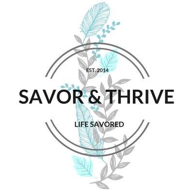 savor and thrive logo