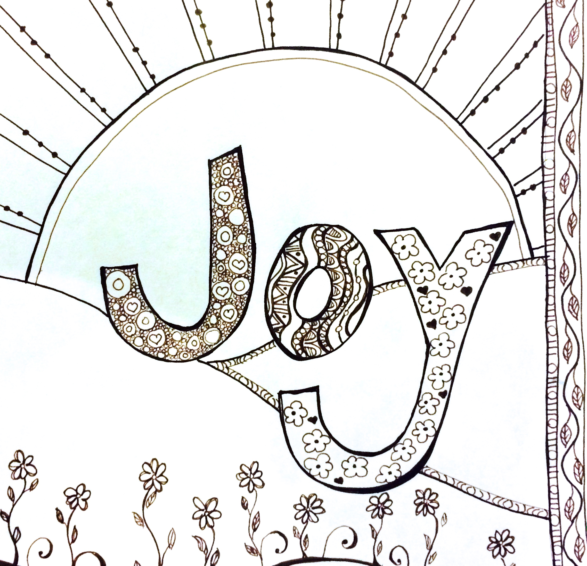 Coloring Pages Gratitude