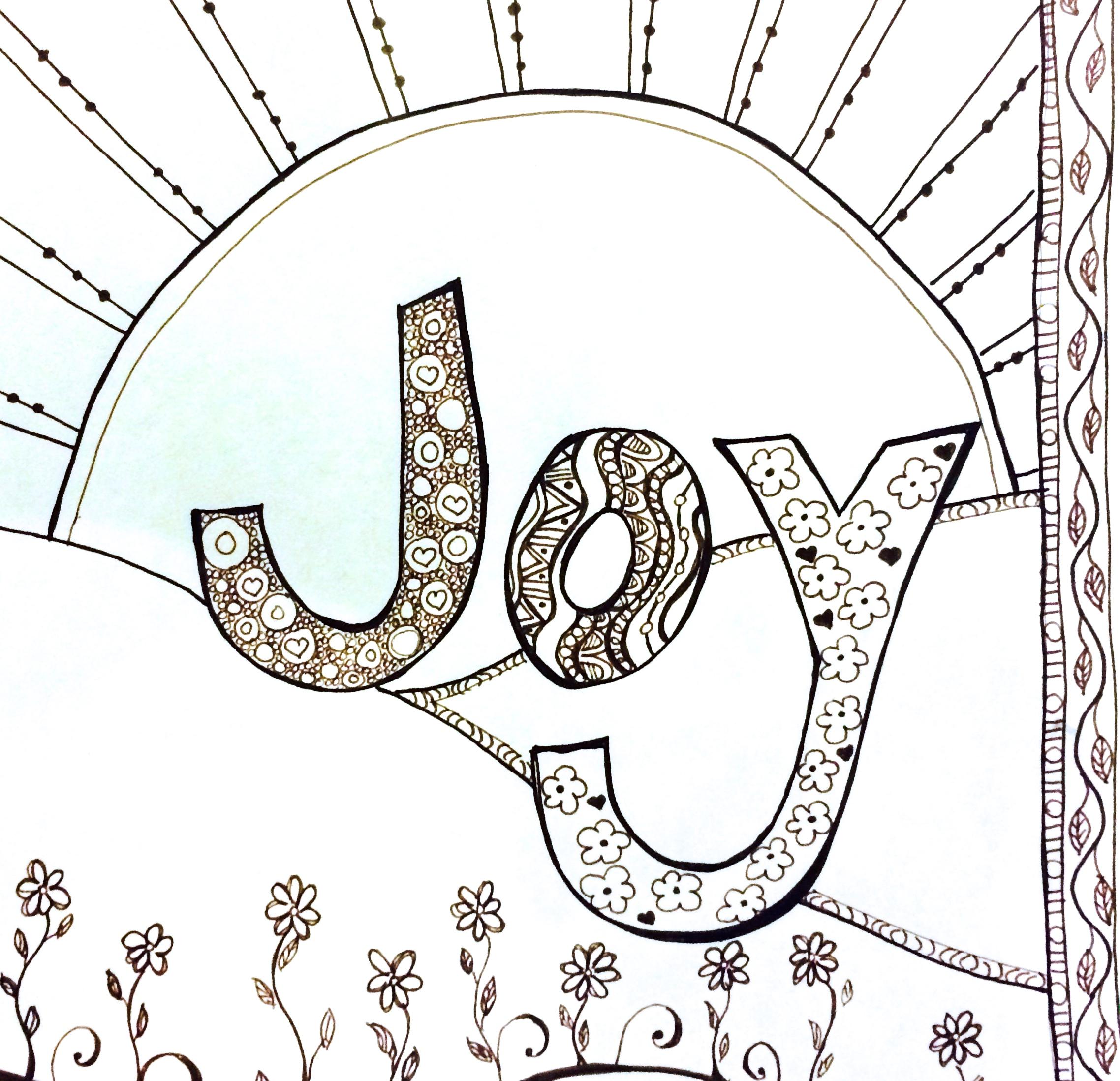 Joy Ful Worksheet