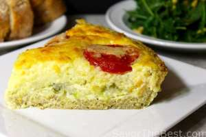 baby wall wall onion and tomato quiche