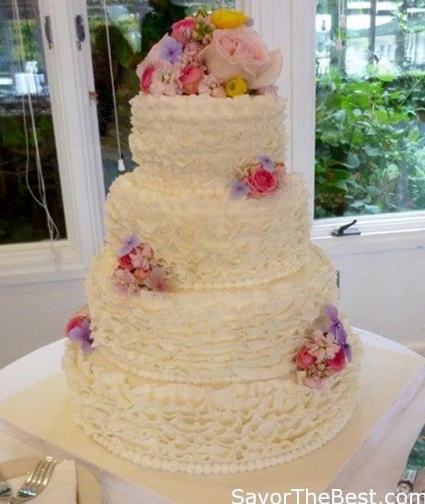 Fondant Ruffle Cake