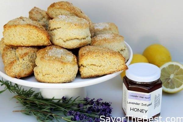 Lemon-Buttermilk-Scones-with-Lavender-Infused-Honey-2