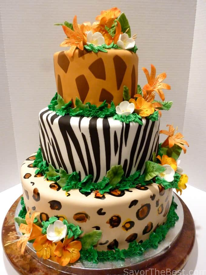 Tropical Jungle Cake Design Savor The Best