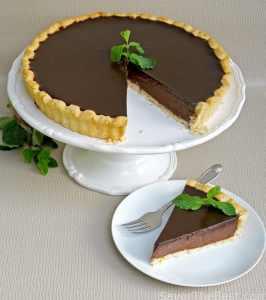 Chocolate-Mint Tart