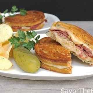 Hot Reuben Sandwich
