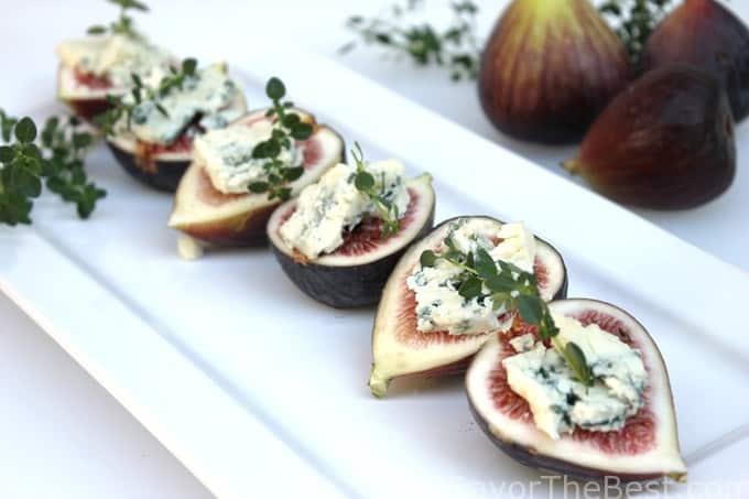 Figs and Gorgonzola