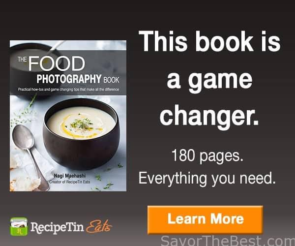 The Food Photography Book | By Nagi from RecipeTin Eats