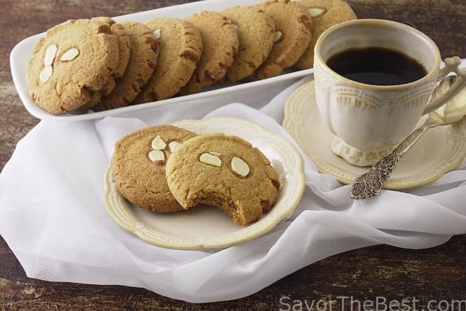 Triple Ginger-Almond Coookies