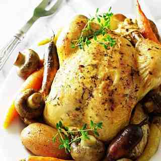 Pot Roasted Herb Chicken