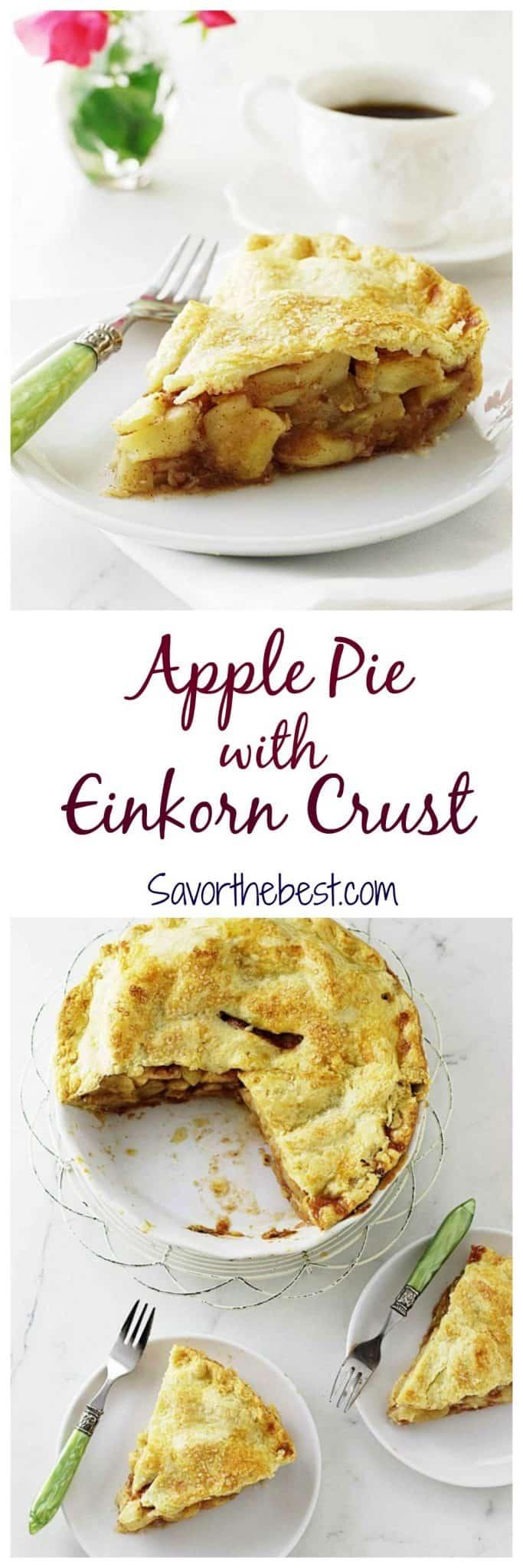 Apple Pie with Einkorn Crust