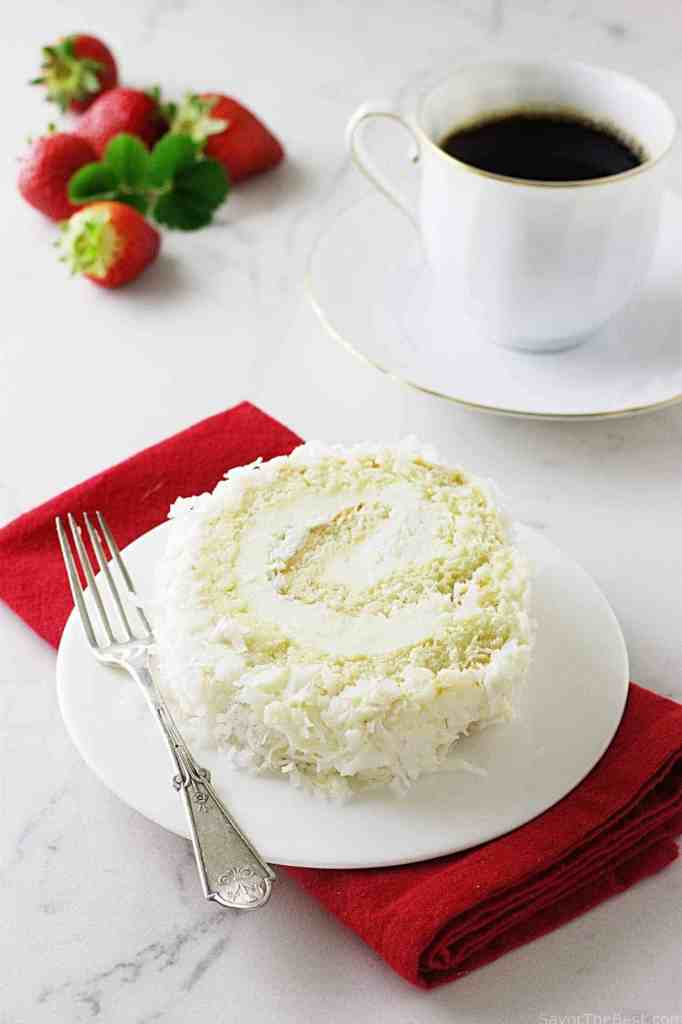 Coconut Cake Roll