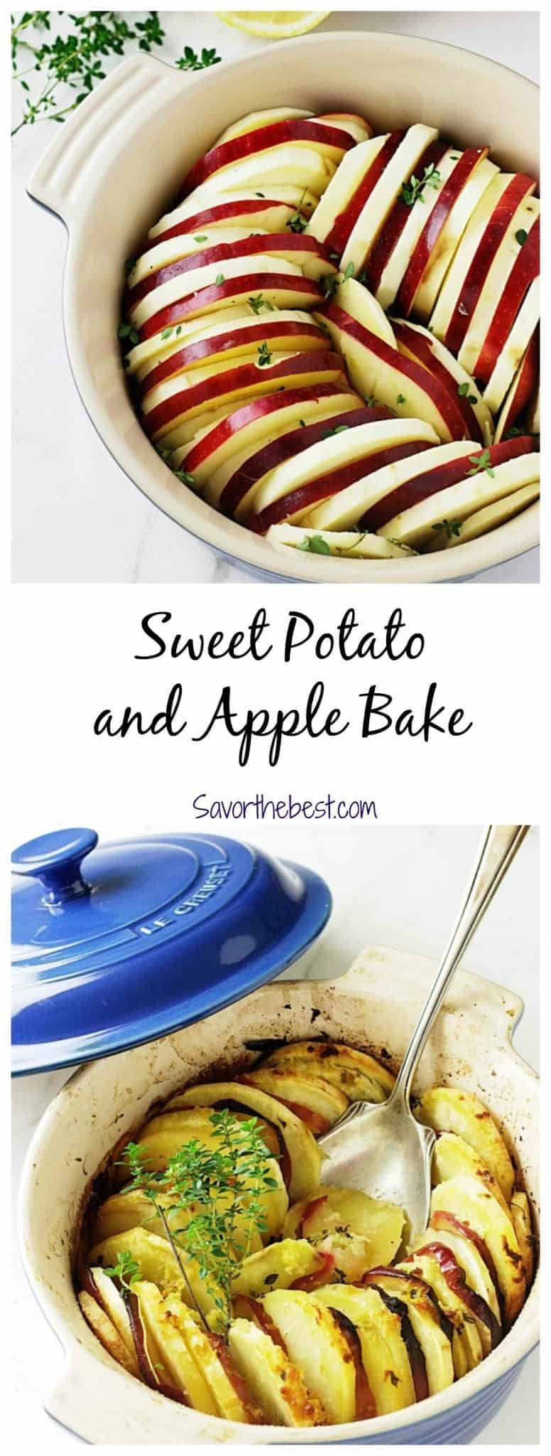 sweet potato and apple bake