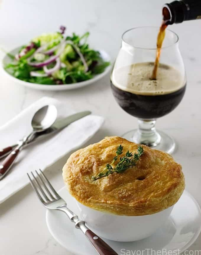 Irish Beef and Stout Pies