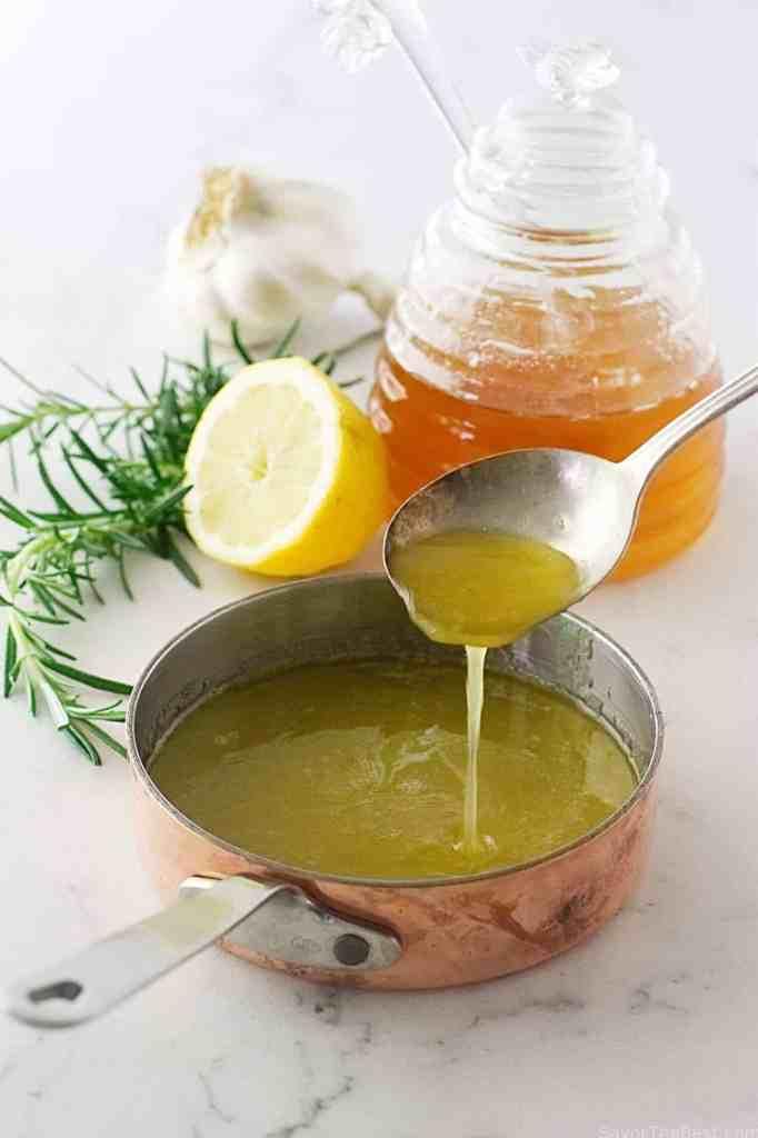 Honey-Lemon Glazed Golden Beets