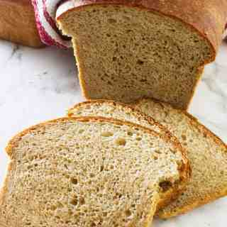 Sprouted Wheat Buttermilk Sandwich Bread