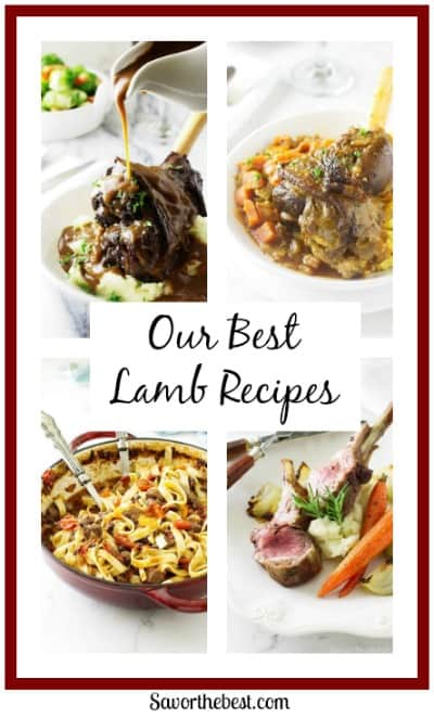 a selection of our best lamb recipes