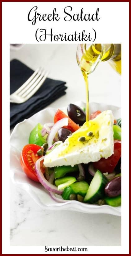 Greek Salad (Horiatiki)