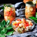 bowl of giardiniera