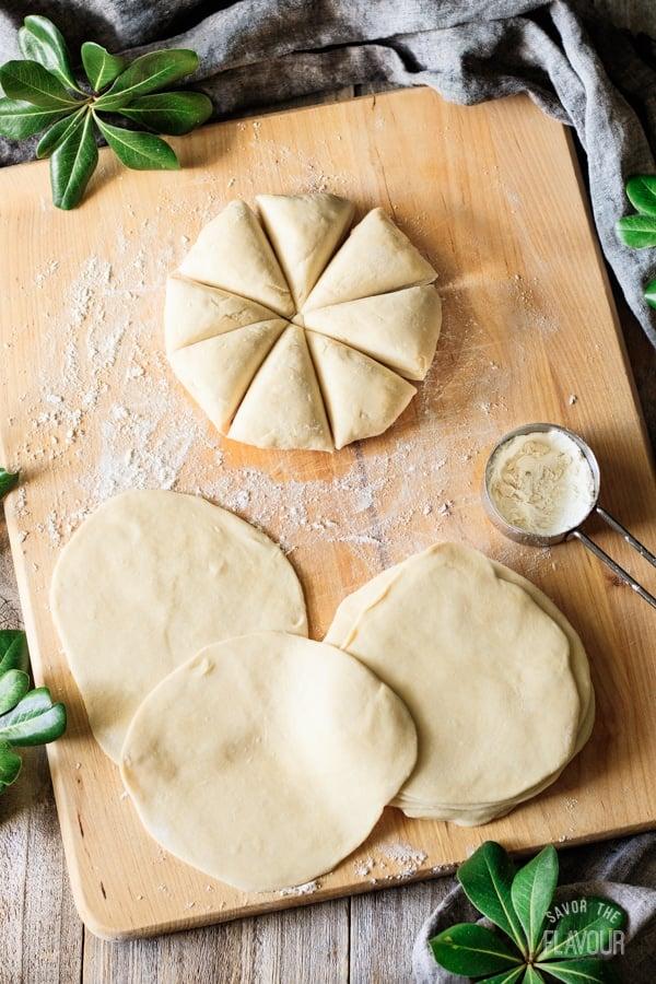dough for baked chicken empanadas