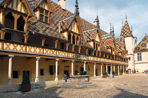 Beaune, Hotel Dieu - photo courtesy of Alain Doire, Burgundy Tourism
