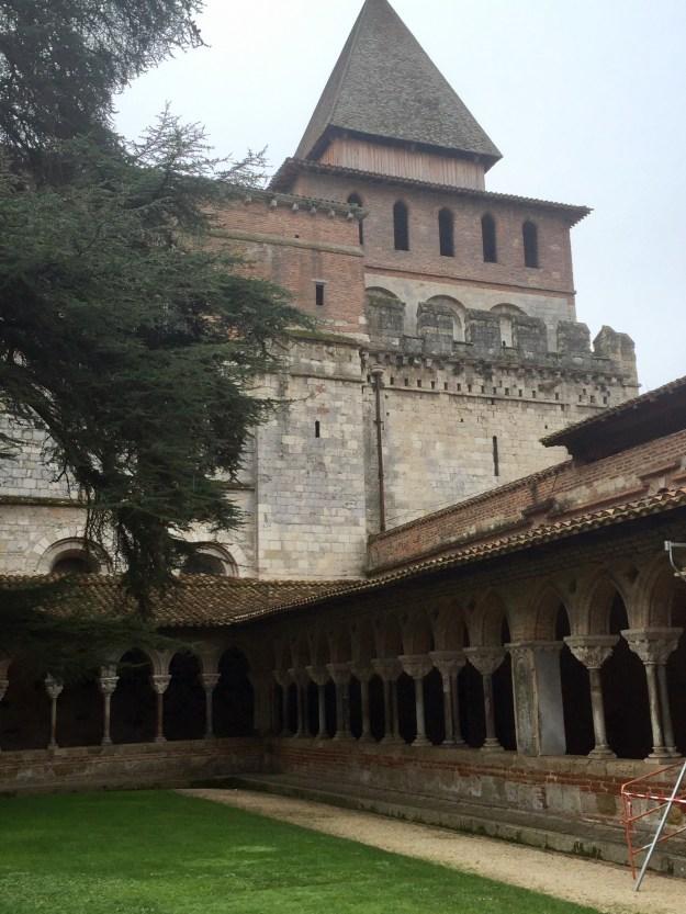 Cloister of Moissac Abbey, Moissac France