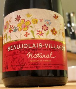 Vignerons de Belair Beaujolais Villages Natural