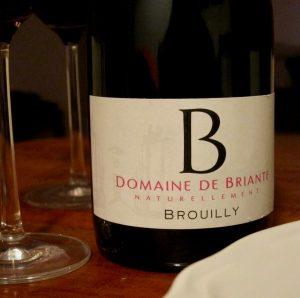 Domaine de Briante Brouilly Tradition Beaujolais