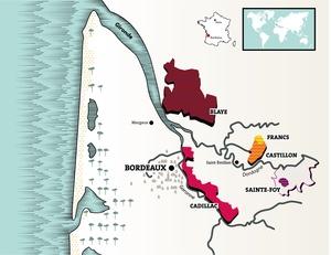 Cotes de Bordeaux france