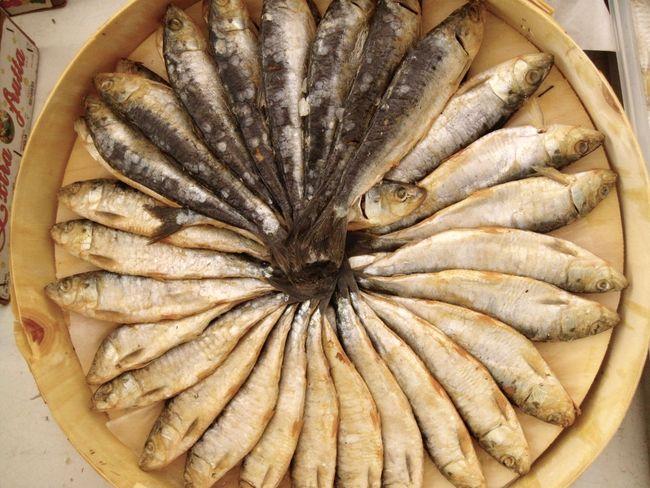 preserved Spanish sardines