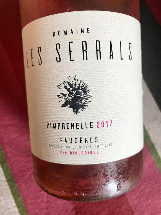 domaine les serrals faugeres languedoc wine