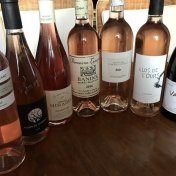 French rosé wines provence