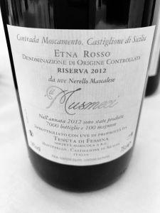 Etna Rosso vino