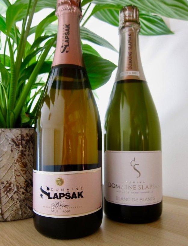 Domaine Slapsak Blanc de Blancs Chardonnay sparkling wine Slovenia