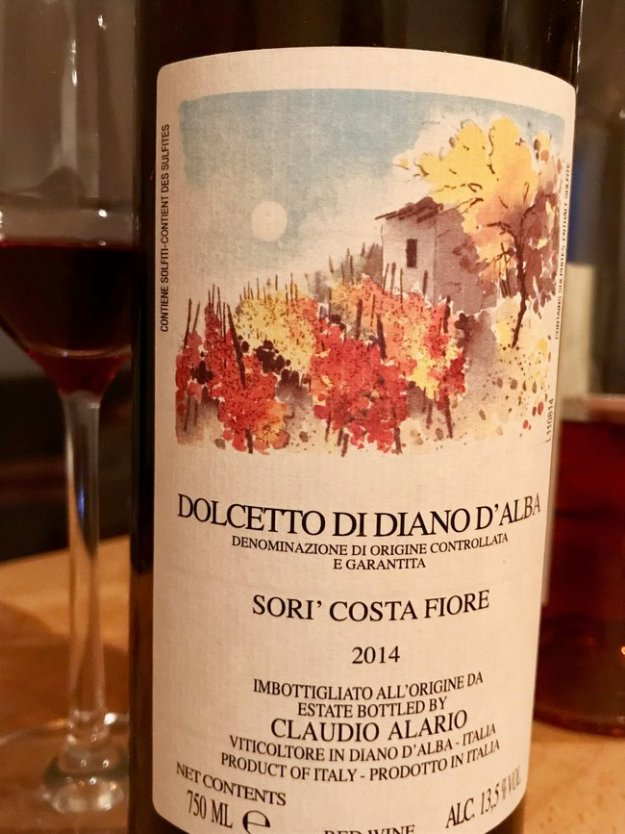 Dolcetto wie piemonte italy