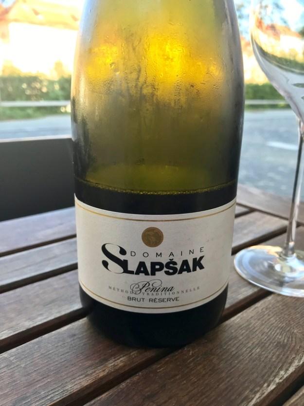 Domaine Slapsak slovenian sparkling wine brut reserve