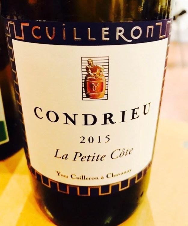 Cuilleron Condrieu Rhone Valley wine