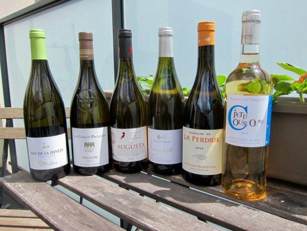 AOC Roussillon white wines