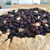 blueberry goat cheese galette