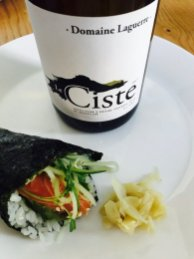 Sushi and a bright, refreshing, mineral and salinity driven Roussillon, yes please!