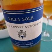 Conte Altobrando Villa Sole Pinot Grigio
