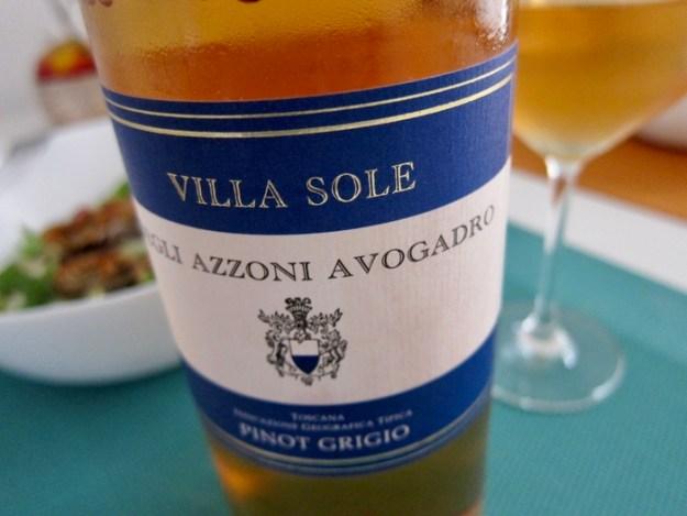 Conte Aldobrando Degli Azzoni Avogadro Villa Sole Pinot Grigio