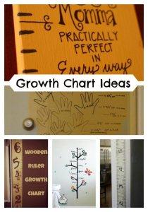 DIY Growth Chart Ideas