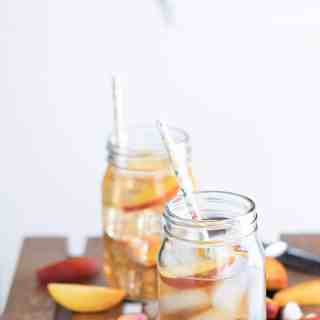 Georgia Peach Cocktail Two Ways