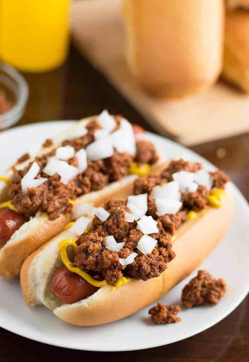 Easy Homemade Hot Dog Chili (No Chili Season Packets Involved)