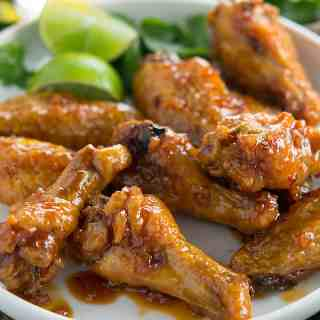 Honey Garlic Chipotle Wings