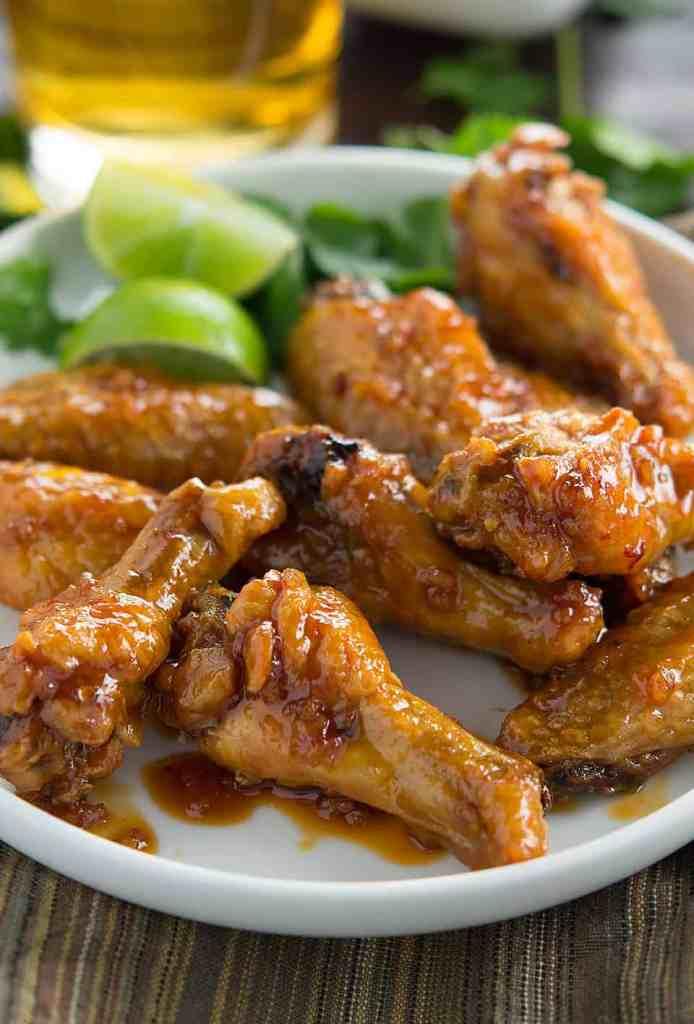 Honey Garlic Chipotle Wings