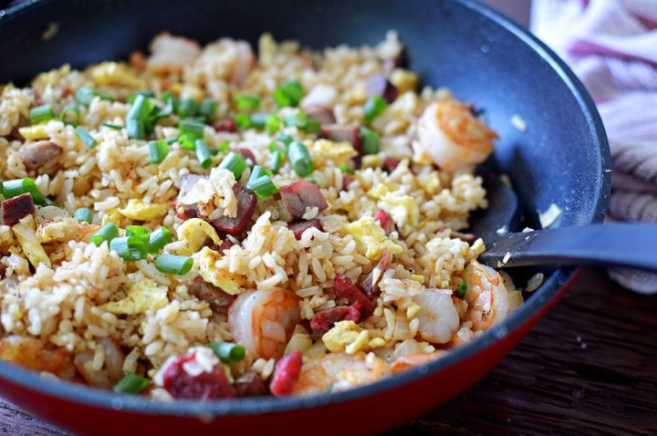 Hawaiian Island Style Fried Rice