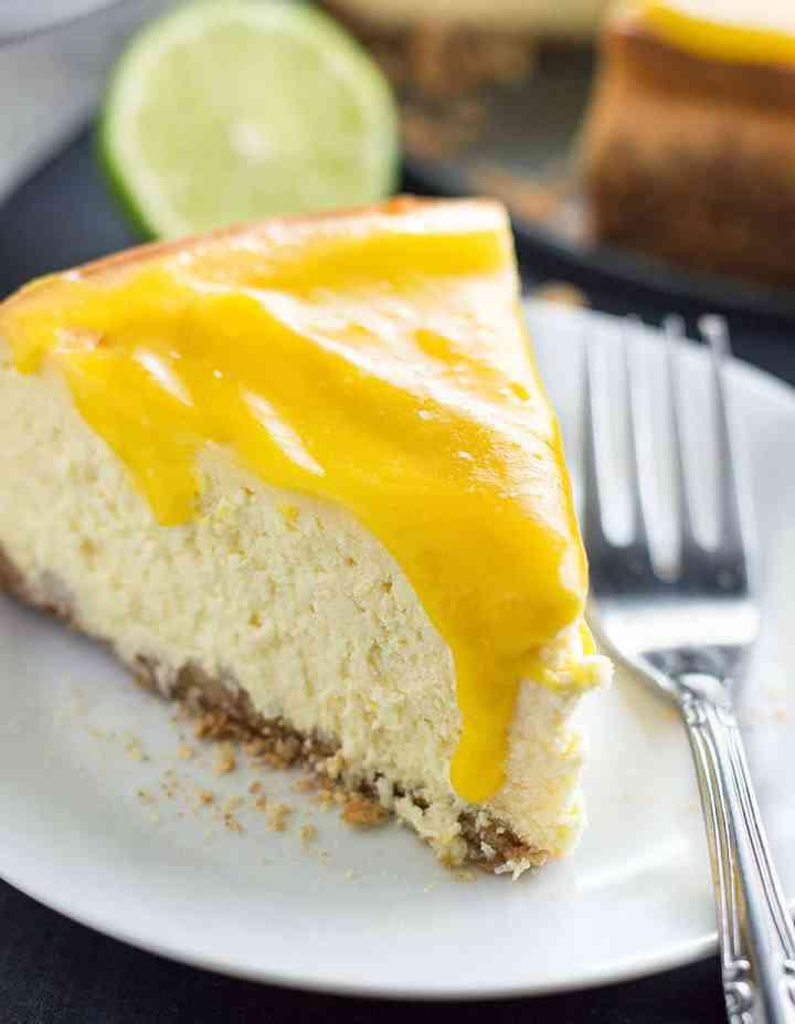 Mango Cheesecake with Macadamia Nut Crust DSC_0308