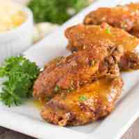 Spicy Pineapple and Mango Wings