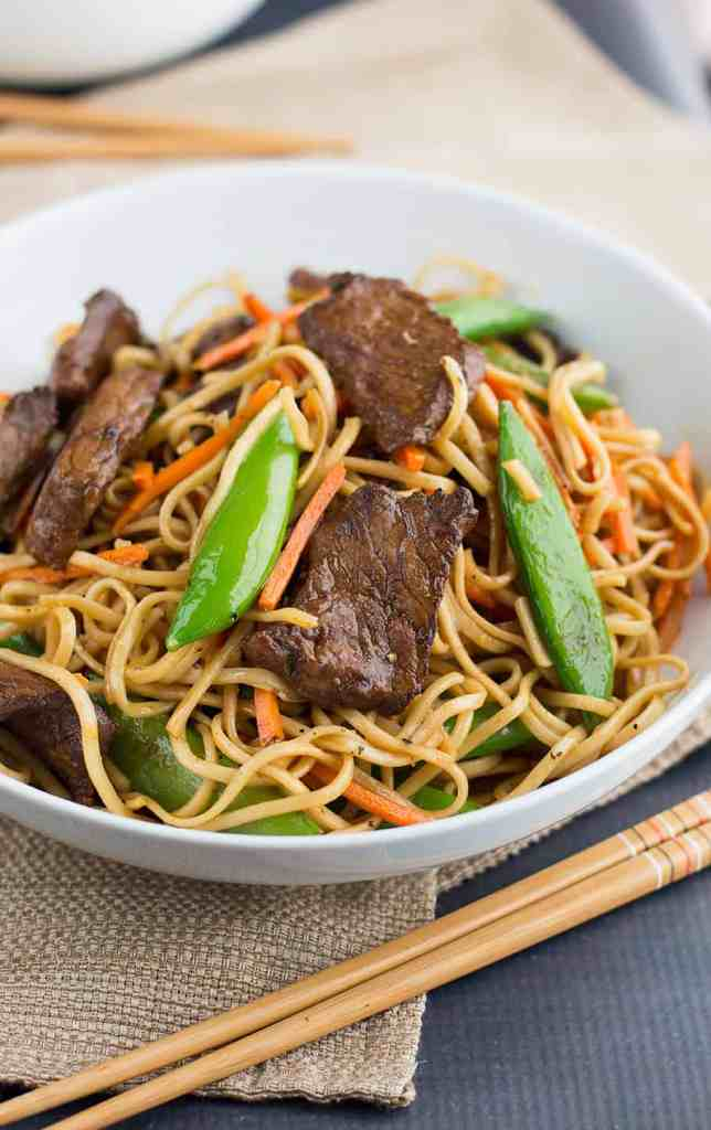 stir beef noodles curry thai fried fry chinese sauce spicy marinade savory brings savoryspicerack
